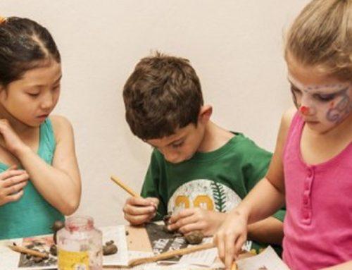 Curso de cerâmica para crianças
